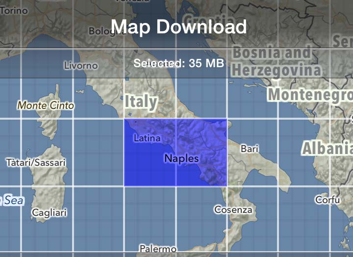Mapout offline map for hiking biking or as city map offline map gumiabroncs Image collections