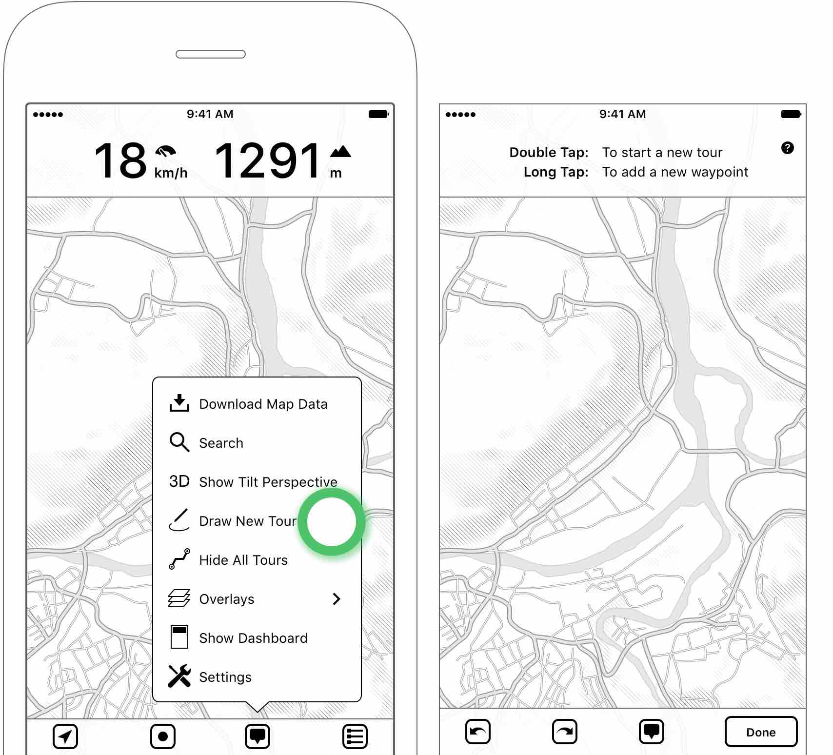 MapOut – User Manual for iPhone/iPad App